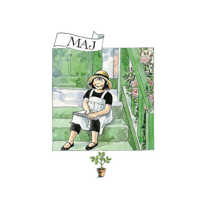 Maj Linneas månadskort