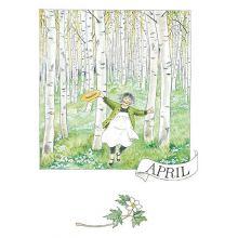 April Linneas månadskort