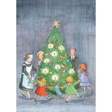Dans kring julgranen Stiernhol