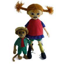 Pippi och herr Nilsson dockorna