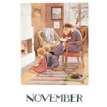 November Årets saga Beskow