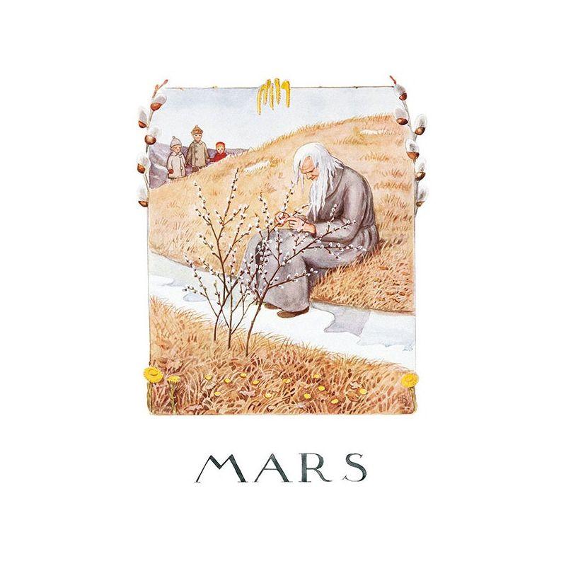 Mars Årets saga Beskow