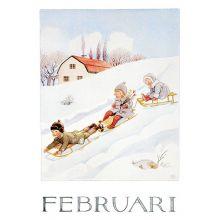 Februari Årets saga Beskow