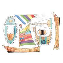 Mulle Meck båt klippark A4