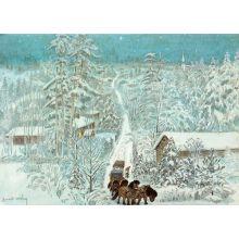 Lille Viggs julafton, vägen