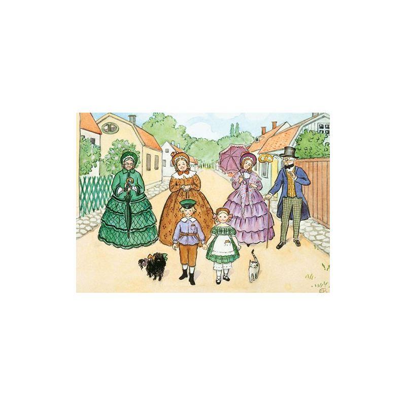 Tanterna på promenad A4