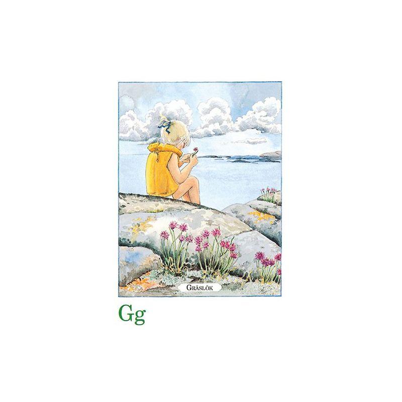 Gräslök, Majas alfabet