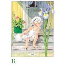 Iris, Majas alfabet
