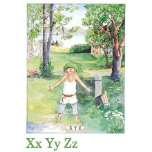 Xyz, Majas alfabet