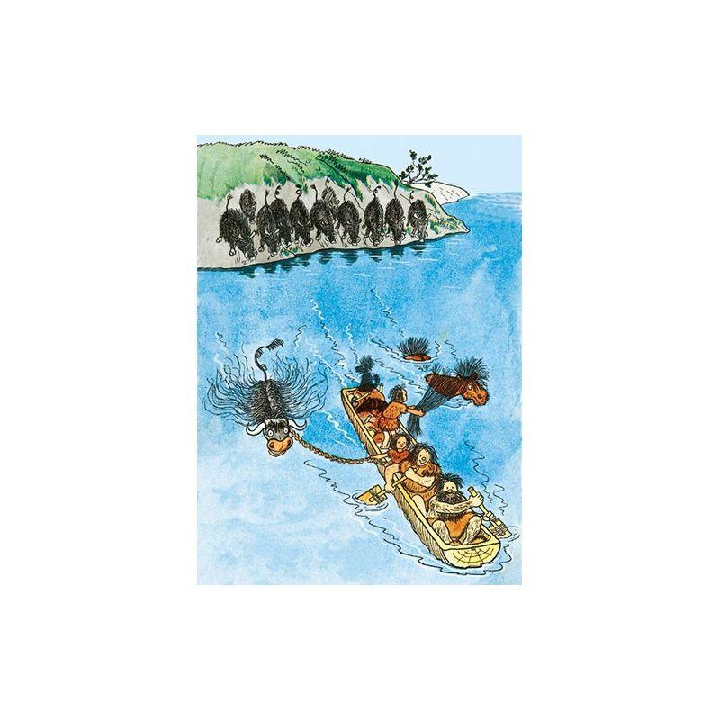 Barna Hedenhös båten