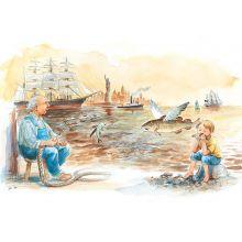 Niklas Nilsson proffs, båt