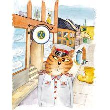 Konstapel Katt kräver kakor