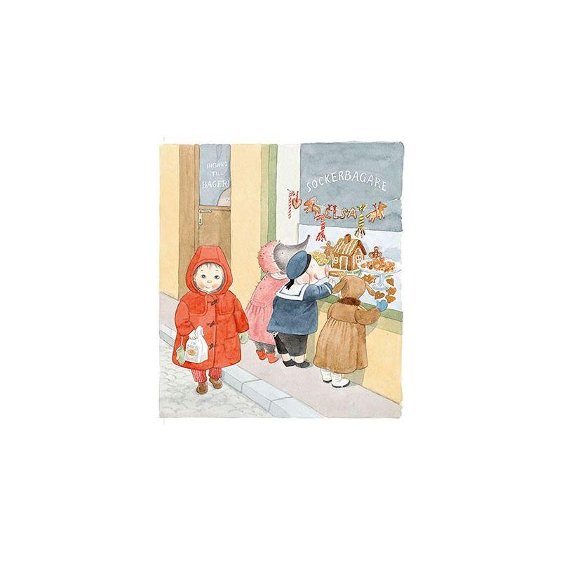 Lilla Kotten sjunger, kakor