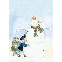 Snögubben och barnen