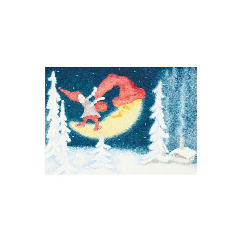 Tomte och månskära