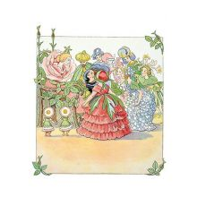Blomsterfesten Drottning Ros