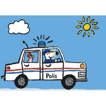 Molly kör polisbil