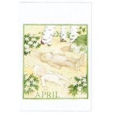 April minikort
