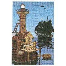 Morfar är sjörövare minikort