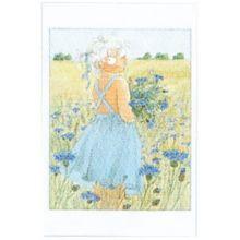 Blåklint Maja minikort