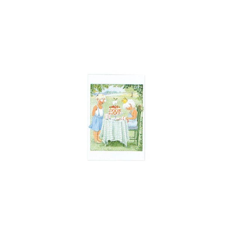 Jordgubbe Maja minikort