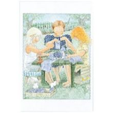 Lavendel Maja minikort