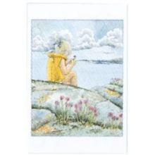 Gräslök Maja minikort
