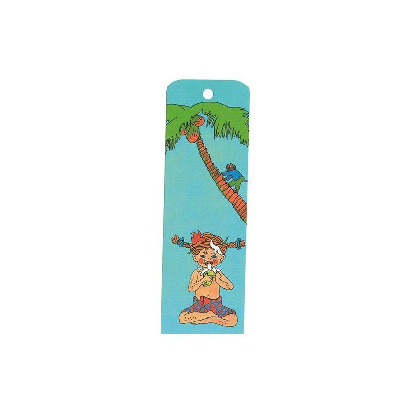 Pippi i Söderhavet bokmärke