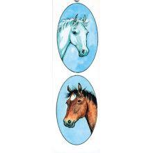 Hästar bokmärke