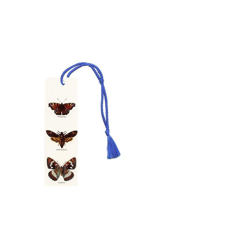 Svenska fjärilar bokmärke