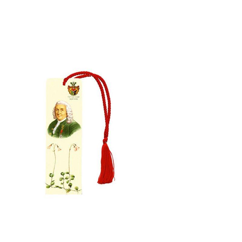 Carl von Linné bokmärke