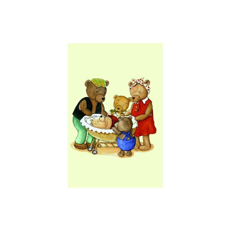 Familjen Nalle minikort