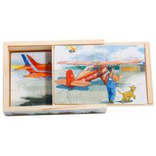 Mulle Meck flygplan 4 x trä