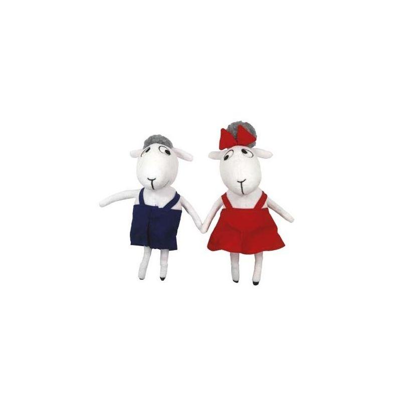 Bu och Bä dockor