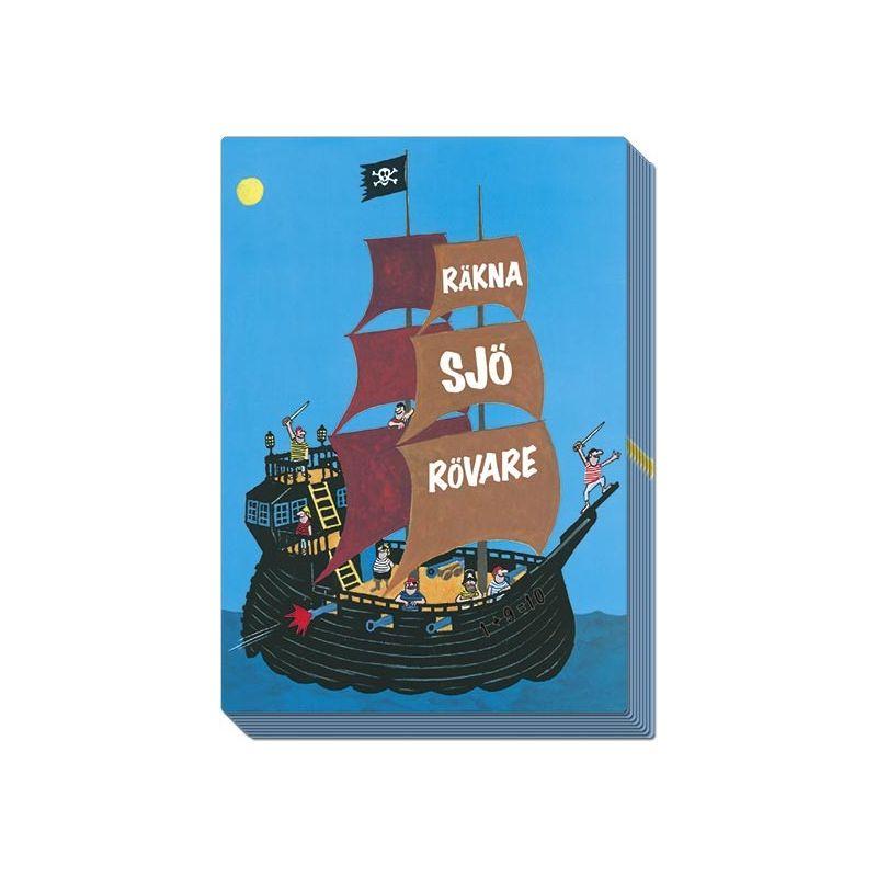 Räkna Sjörövare kortspel
