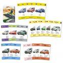 Bilar från hela världen kortsp