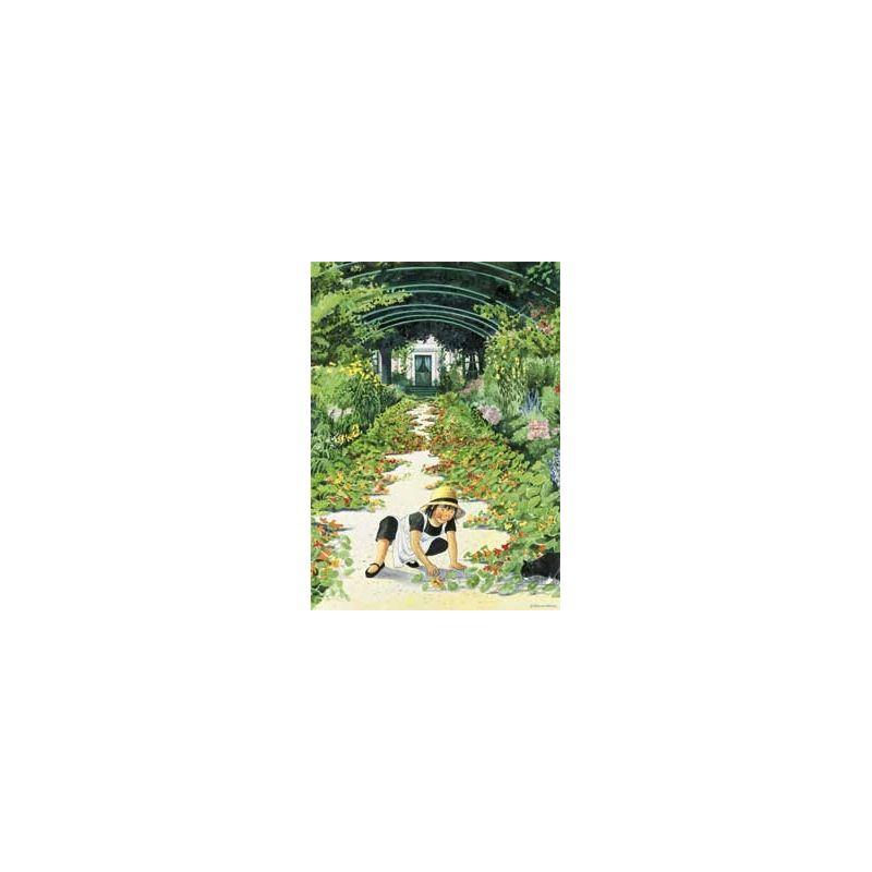 Linnea i trädgård, krassegång