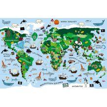 Viktiga kartor pussel 100 bitar
