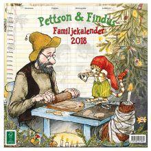 Pettson och Findus familjekalender 2018