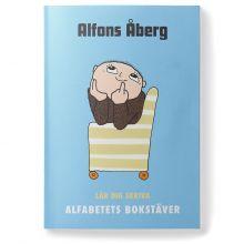 Lär dig skriva alfabetets bokstäver - Alfons Åberg