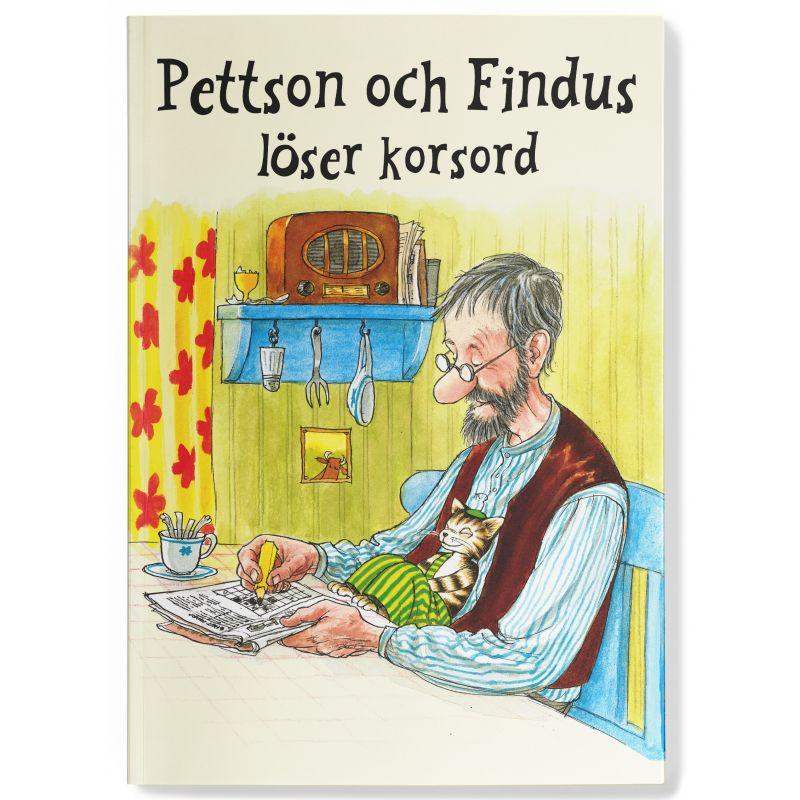 Pettson och Findus löser korsord