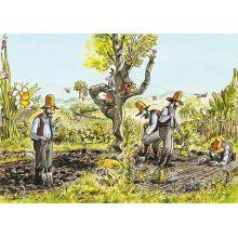Pettson i grönsakslandet Affisch