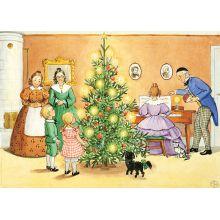 Petter och Lotta jul affisch