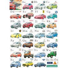 Bilar ABC affisch