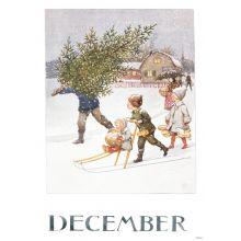Månadsbild - December, Beskow