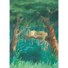 Hur leoparden fick sina f