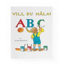 Vill du måla? ABC Målarbok
