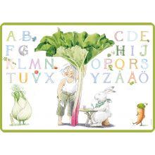Majas alfabet underlägg
