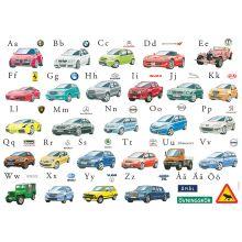 Bilar från hela  - Underlägg