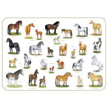 Hästar underlägg